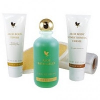 COFFRET SOIN CORPS ALOES